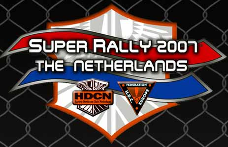 Superrally, Bussloo, Holland